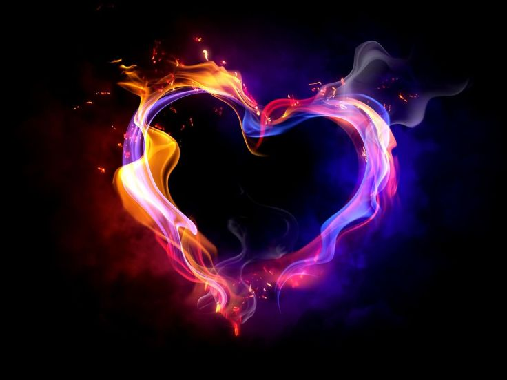 Flaming-Heart-Black-Background-Picture